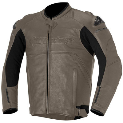 Alpinestars Hades Leather Jacket Pyrite