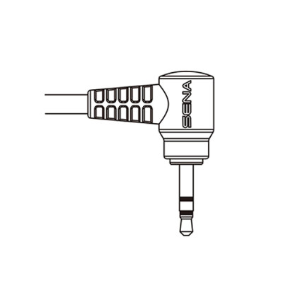 Sena 2-Way Radio Cable for Motorola Single-Pin Connector